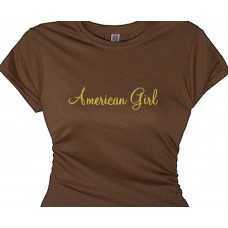 American Girl Flirty Girl Ladies Tee Shirt