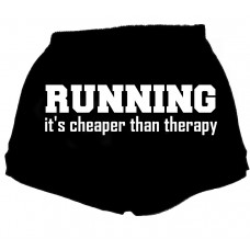 running its cheaper than therapy - fitness shorts