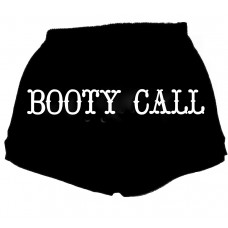 Booty Call-Fitness Shorts, Shorts With Words
