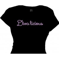 Diva licious Ladies Tee Shirt