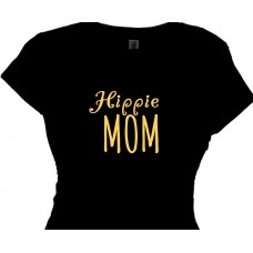HIPPIE mom - Cool T Shirt for Hippie Moms