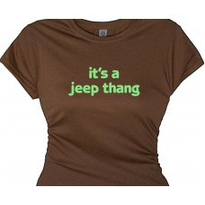 It's a Jeep thang - Country Off Road T-Shirts