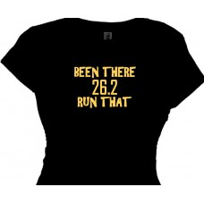 BEEN THERE 26.2 RUN THAT, marathon runners t shirt