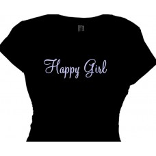Happy Girl - Ladies Tee Shirt