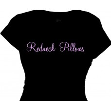 "Redneck Pillows - Ladies ""Boobie Pillows"" T-Shirt"