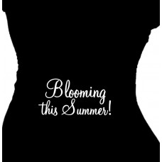 Blooming This Summer Maternity T Shirt