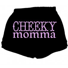 Cheeky Momma Sexy Fitness Workout Shorts