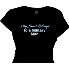 My Heart Belongs To A Military Man - Wives and Girlfriends