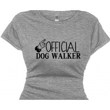 Official Dog Walker - Shirt For Women