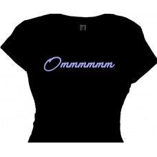 Ommmmmm - Ladies Meditation Yoga Tee