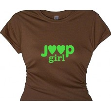 """Jeep Girl Off Road Racing T Shirt Women"""
