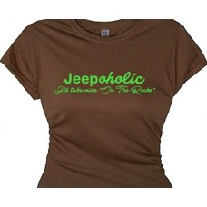 """Jeepaholic 4 x 4 Rally Road Racing Off Road Love My Jeep"""