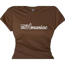 """ Mudmaniac Girls Racing Shirts Bike Racing All Terrain Vehicles"""
