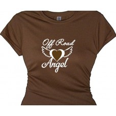 """Off Road Angel Sweet Tee for Off Road Racing Women"""